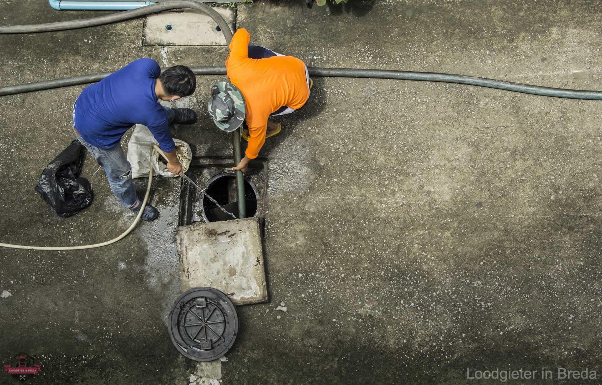 Riool inspectie loodgieter breda
